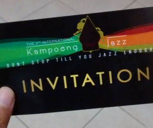 Kampoeng Jazz Invitation